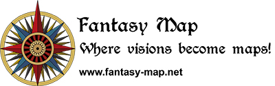 Fantasy Map logo text
